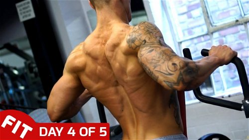 Day 4 - Back & Biceps - Ross Dickerson's 5 Day Split