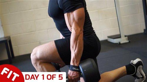 Day 1 - Legs - Mike Thurston's 5 Day Split