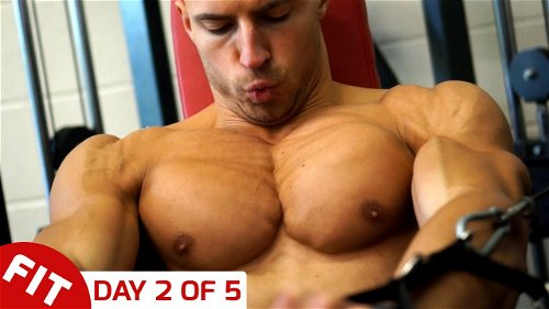 Day 2 - Chest & Shoulders - Mike Thurston's 5 Day Split