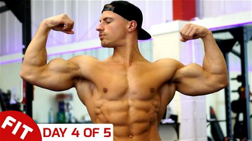Day 4 - Arms - Mike Thurston's 5 Day Split