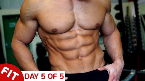 Day 5 - Abs, Core and HIIT - Mike Thurston's 5 Day Split