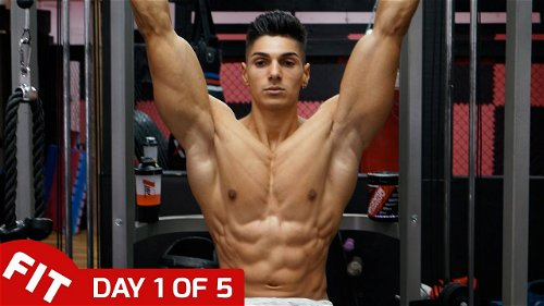 Day 1 - Back and Abs with Andrei Deiu