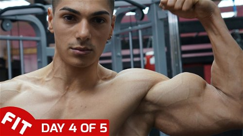Day 4 - Massive Arms with Andrei Deiu